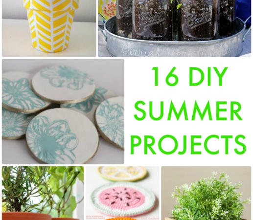 Great Ideas — 16 DIY Summer Projects!