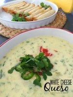 White Queso Recipe and Cinco de Mayo Printables!
