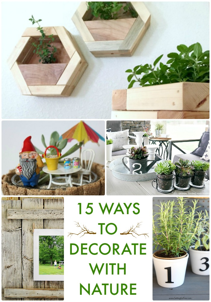 15 Ways to Decorate with Nature