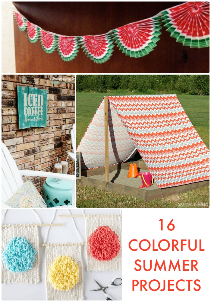16 Colorful Summer Projects