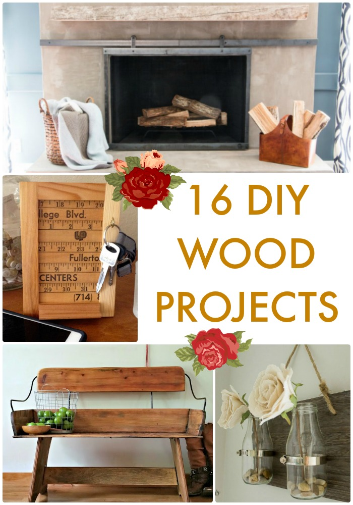 Great Ideas 16 Diy Wood Projects