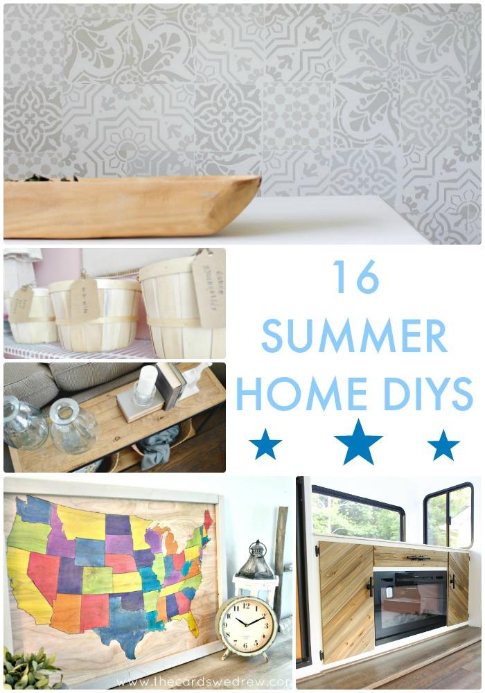 16 Summer Home DIYS