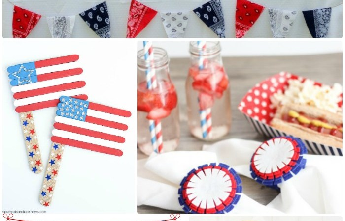 Great Ideas — 20 Red, White, and Blue Ideas!