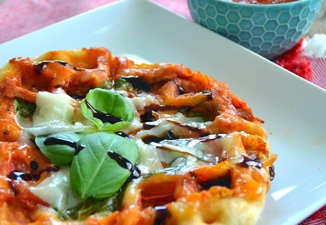 Margherita Pizza Waffles