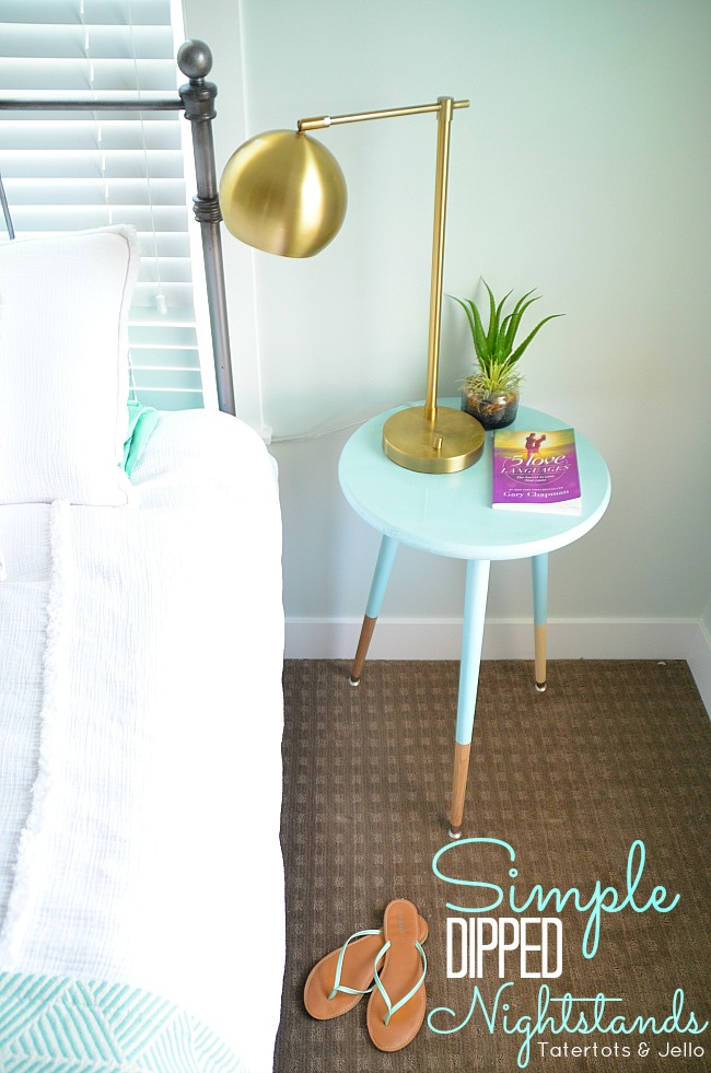 Simple Modern DIY Nightstands