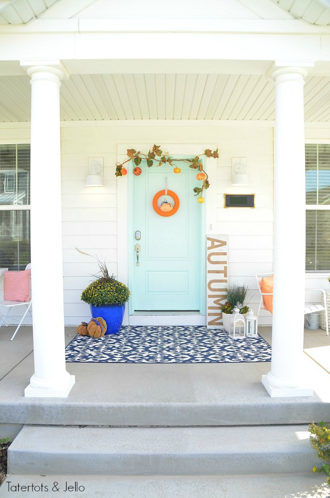 5 ways to make your fall porch pretty