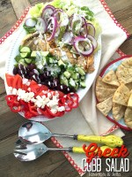 Zesty Grilled Chicken Greek Cobb Salad