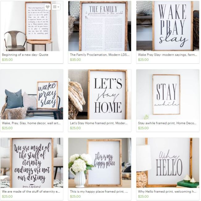 modern farmhouse signs
