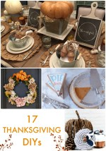 Great Ideas — 17 Thanksgiving DIYs!