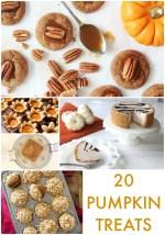 Great Ideas — 20 Pumpkin Treats!