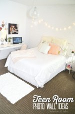 Teen Room Photo Display Ideas