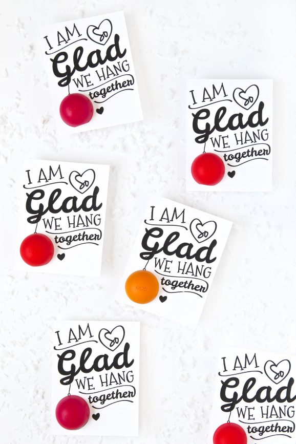 Easy EOS Christmas Gift Idea and Printable