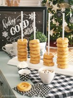 DIY Donut Stacker Party Idea