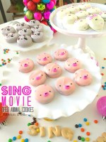 SING Movie Chocolate-Covered Oreo Animal Cookies