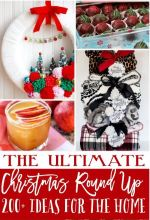 20 Gorgeous Holiday Mantels and over 200 Holiday Ideas!