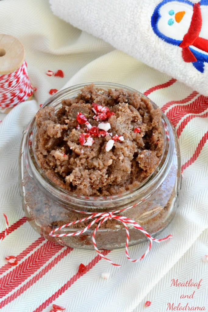 Chocolate Peppermint Sugar Scrub Recipe and Gift Ideas