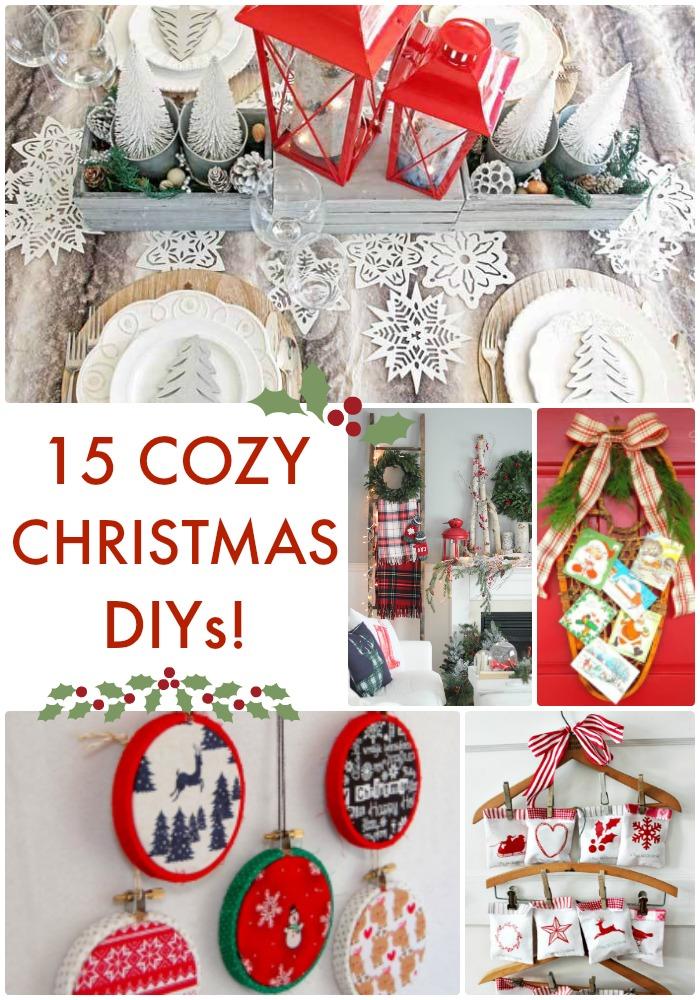 15 cozy christmas diys