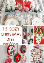 Great Ideas — 15 Cozy Christmas DIYs!