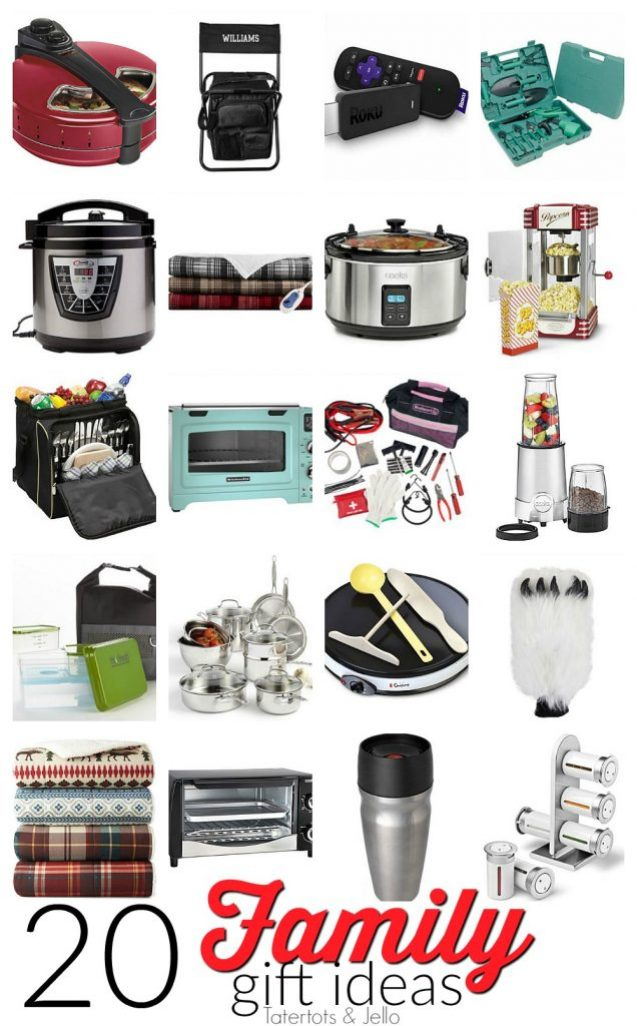 20 family gift ideas. Gift ideas for anyone in the family. Great ideas for everyone on your list.