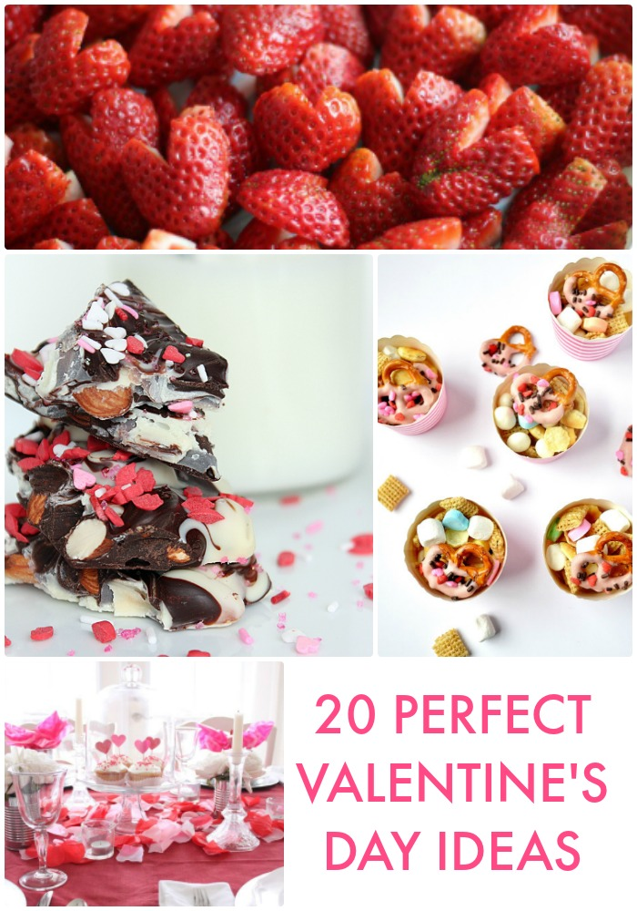 Great Ideas -- 20 Perfect Valentine's Day Ideas!
