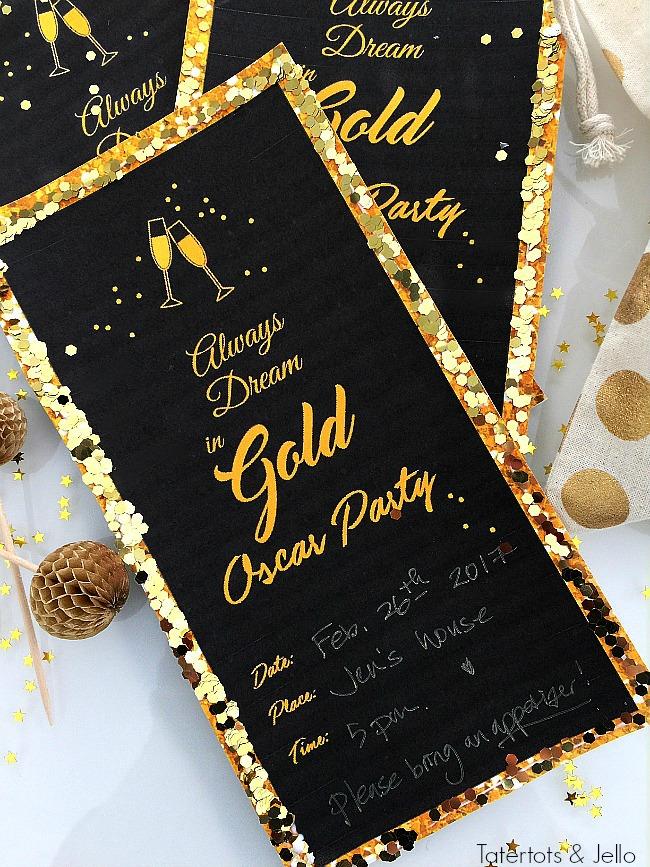 oscars party invitations oscars party invitations