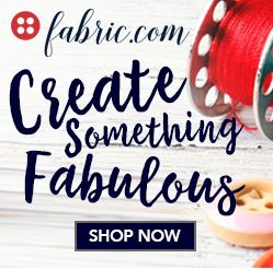 fabric.com is a great resource for on-trend fabrics at affordable prices