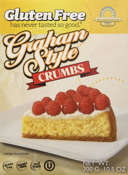 graham cracker crumbs are already ground up and ready to be used for your cheesecake crust!
