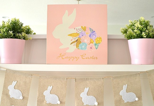 Simple Spring Easter Decorating Ideas