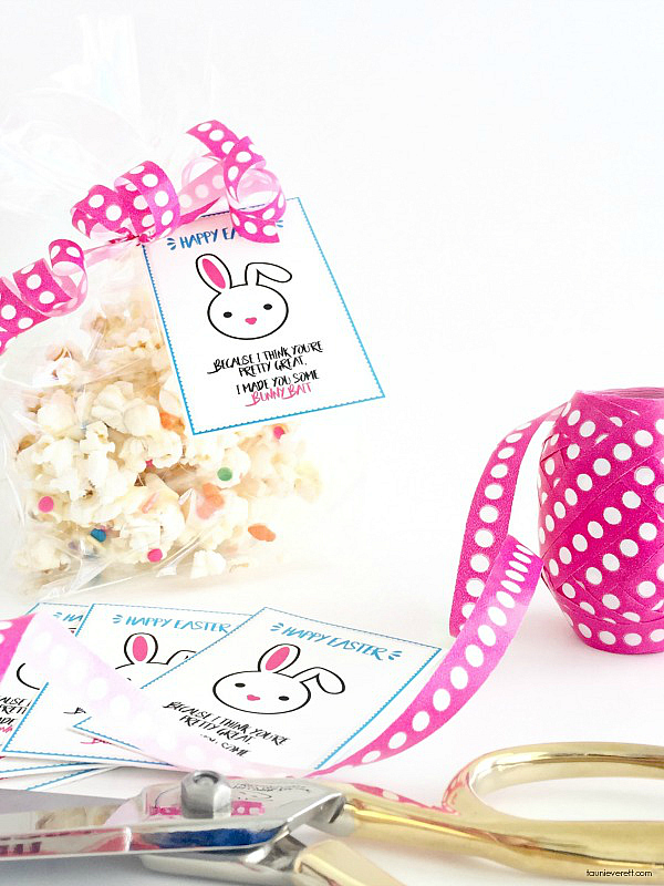 graphic about Bunny Bait Printable called Bunny Bait Reward Concept Printable Tags