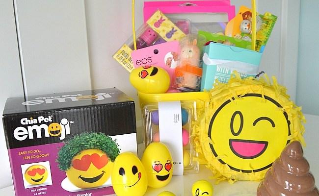 Tween Emoji Easter Basket Ideas