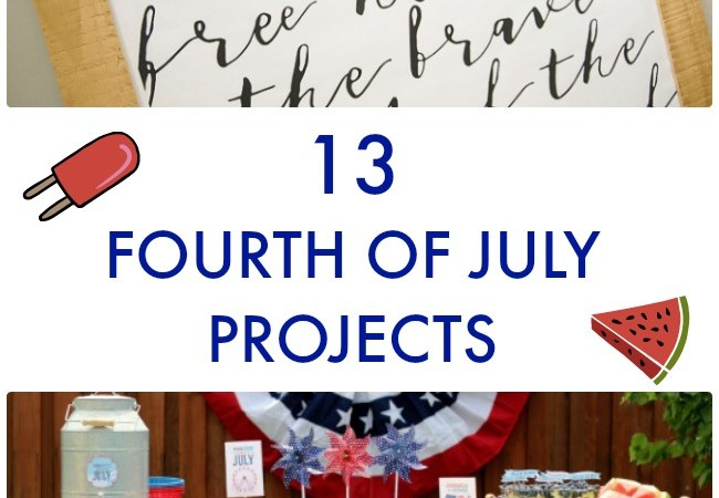 Great Ideas — 13 Fourth of July Projects!