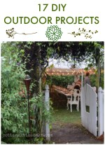 Great Ideas — 17 DIY Outdoor Projects!