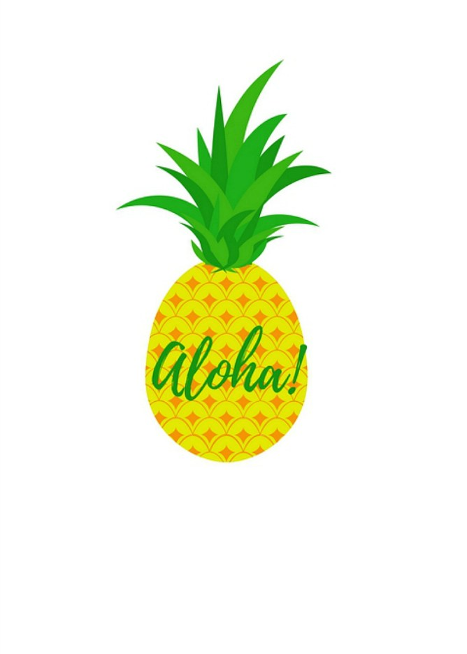 Pineapple Printable Cu...