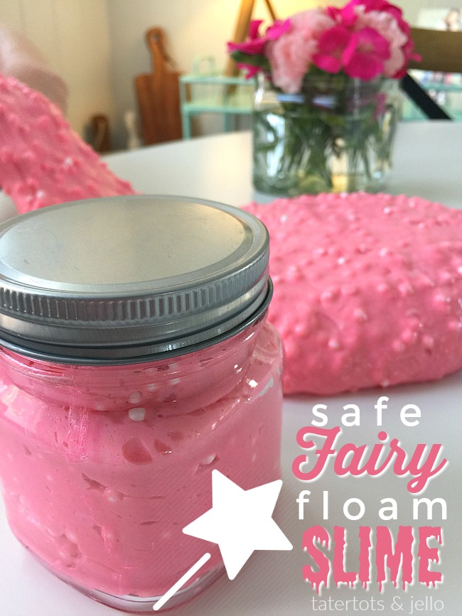 How to Make Safe Fairy Floam Slime