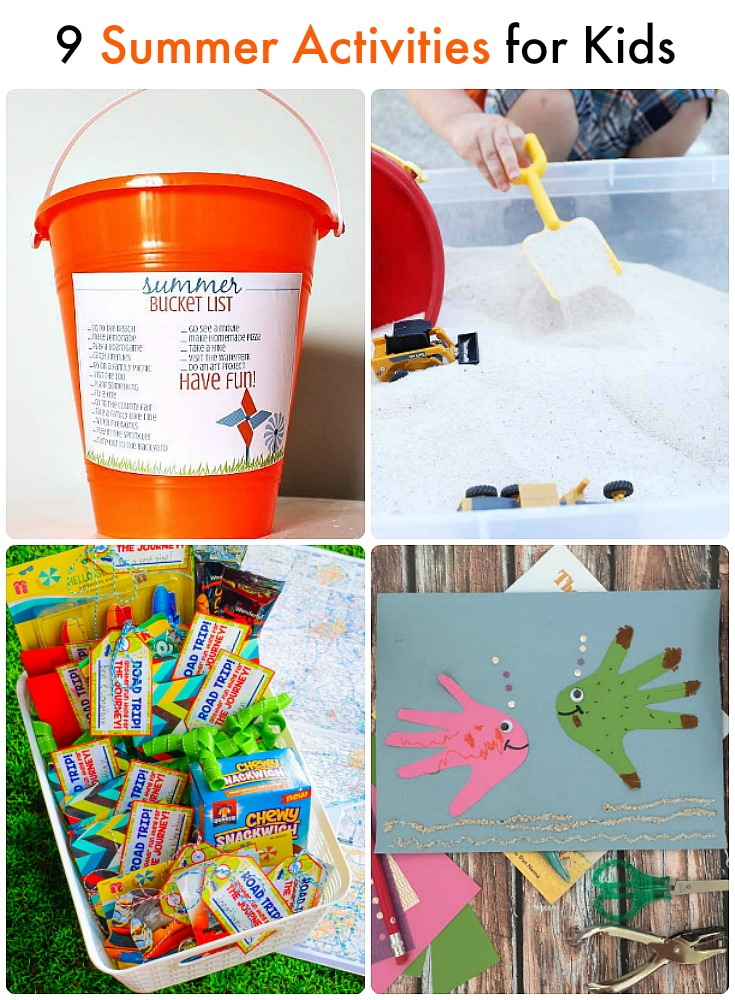 Great Ideas -- 9 Summer Activities for Kids!