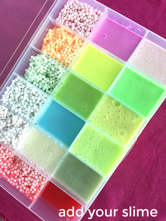 How to make a travel slime box. Transport your slime and show it off!