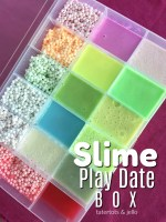 Slime Play Date Travel Box