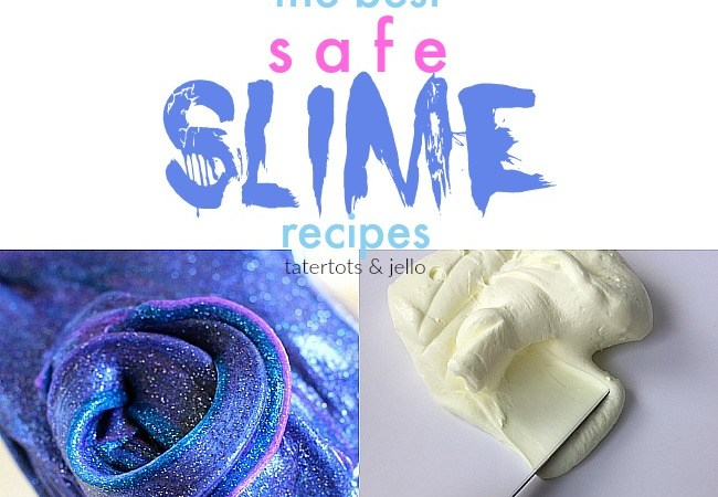Summer Fun – The BEST Borax-free slime recipes!