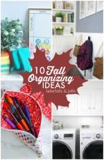 Great Ideas — 10 Fall Organizing Ideas!