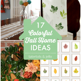 Great Ideas — 17 Colorful Fall Home Ideas!