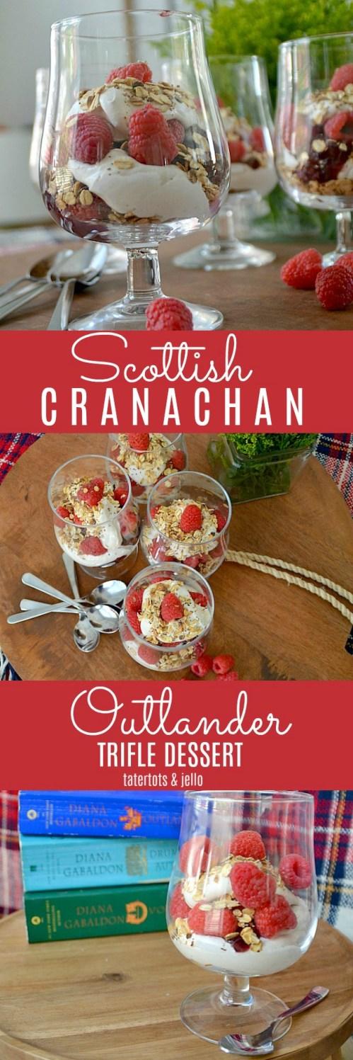 Outlander Scottish Cranachan Trifle Dessert