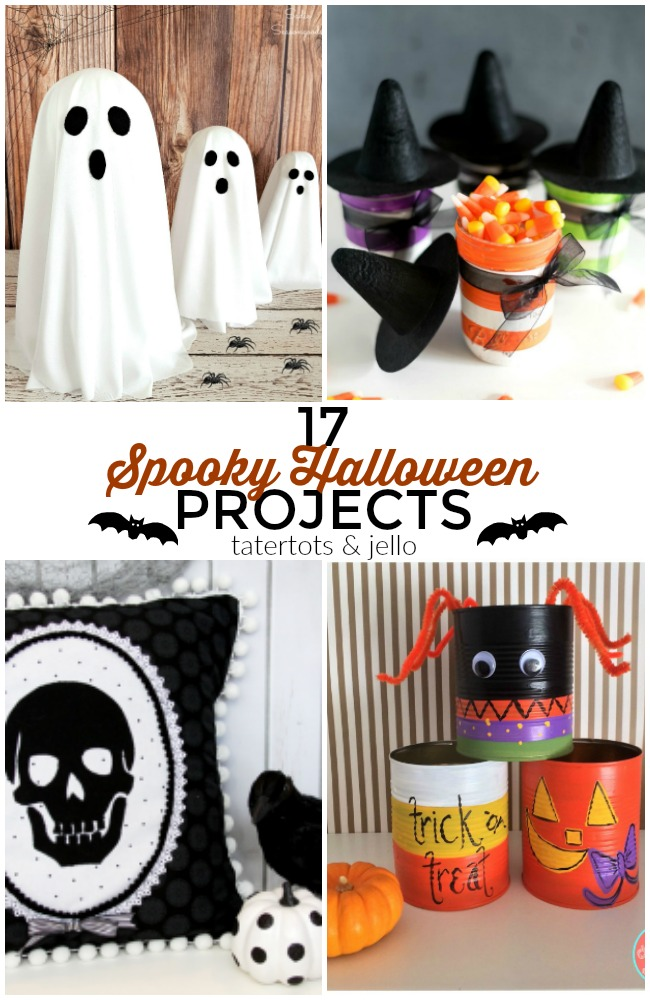 Great Ideas ? 17 Spooky DIY Halloween Projects!