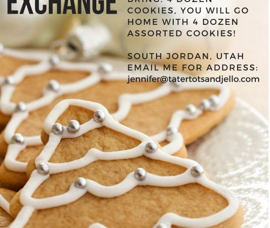 7th Annual Tatertots + Jello Cookie Exchange – December 15th 11am!!