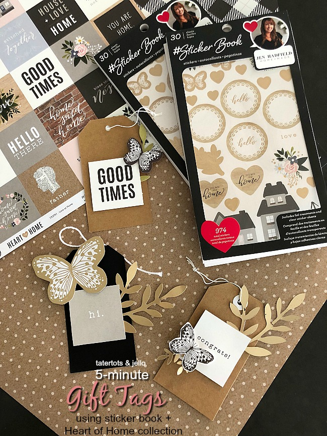 Sticker Books- an easy way to create SO many projects! Already sticky - just attach them and make something beautiful!