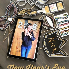 New Years Eve Photo Booth – free printables!