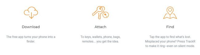 trackr app - never lose anything again