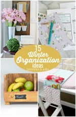 15 Winter Organization Ideas – get productive for the new year!