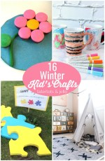 Great Ideas — 16 Winter Kid's Crafts!