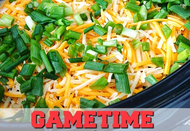 Game Day Recipe – Warm Crockpot 7-Layer Dip!
