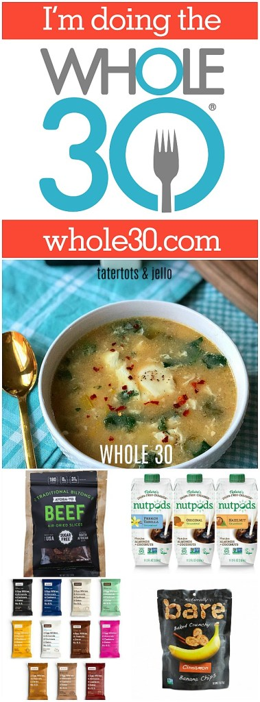 join me in doing the whole 30 challenge